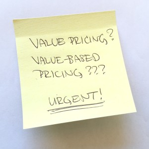Value Pricing & Value-Based Pricing