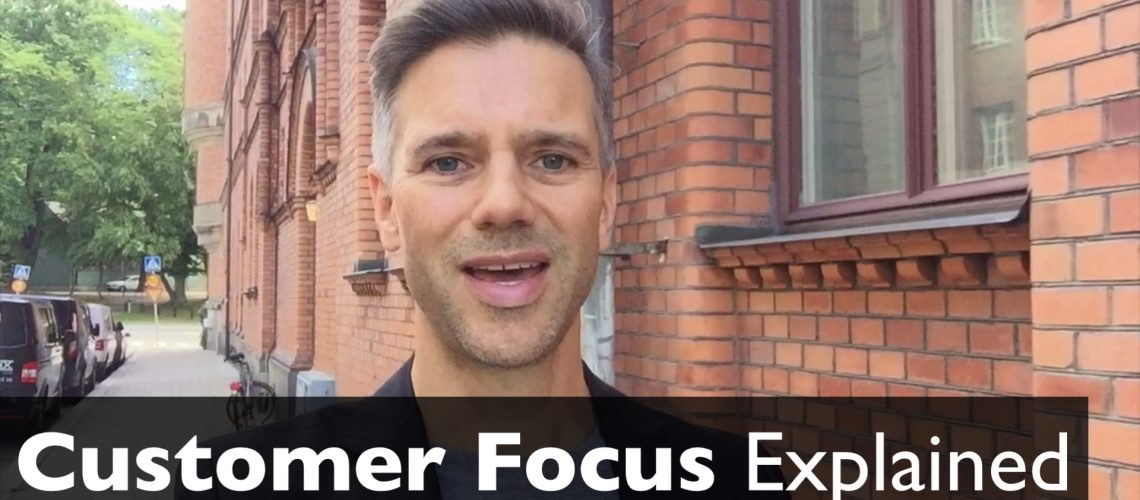 Customer Focus Explained by Dr. Paul Viio video thumbnail